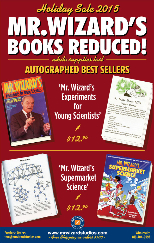 Mr. Wizard New Releases