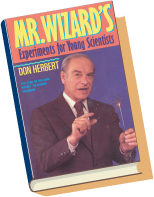 Mr. Wizard's Experiments for Young Scientists Book